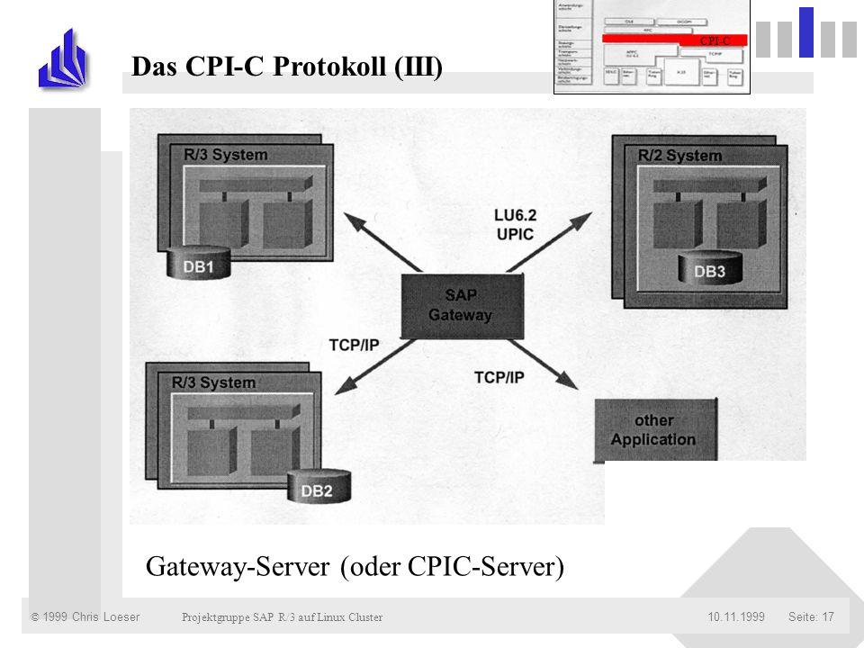 Das CPI-C Protokoll (III)