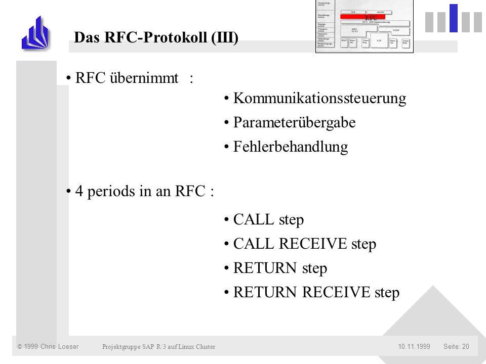 Das RFC-Protokoll (III)