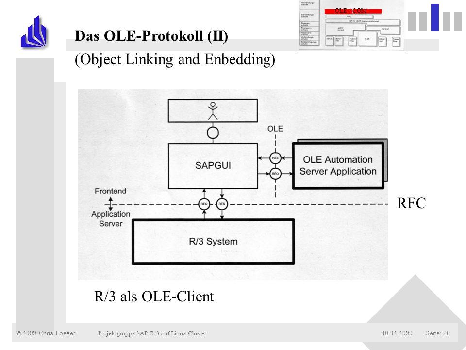 Das OLE-Protokoll (II)