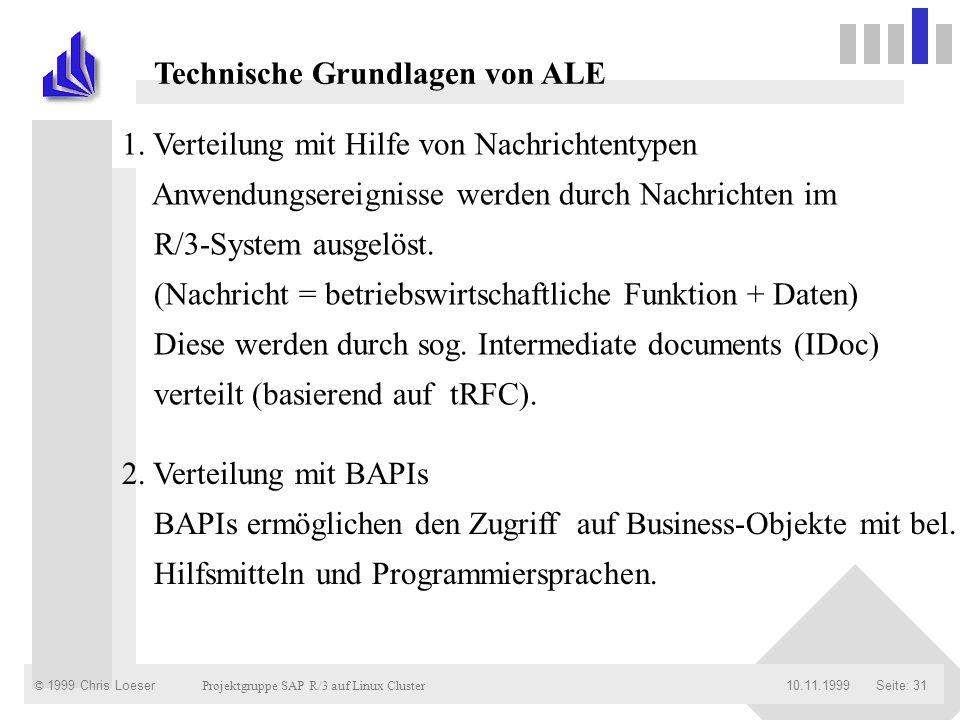 Technische Grundlagen von ALE