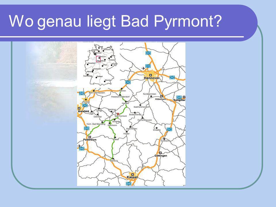 Wo genau liegt Bad Pyrmont