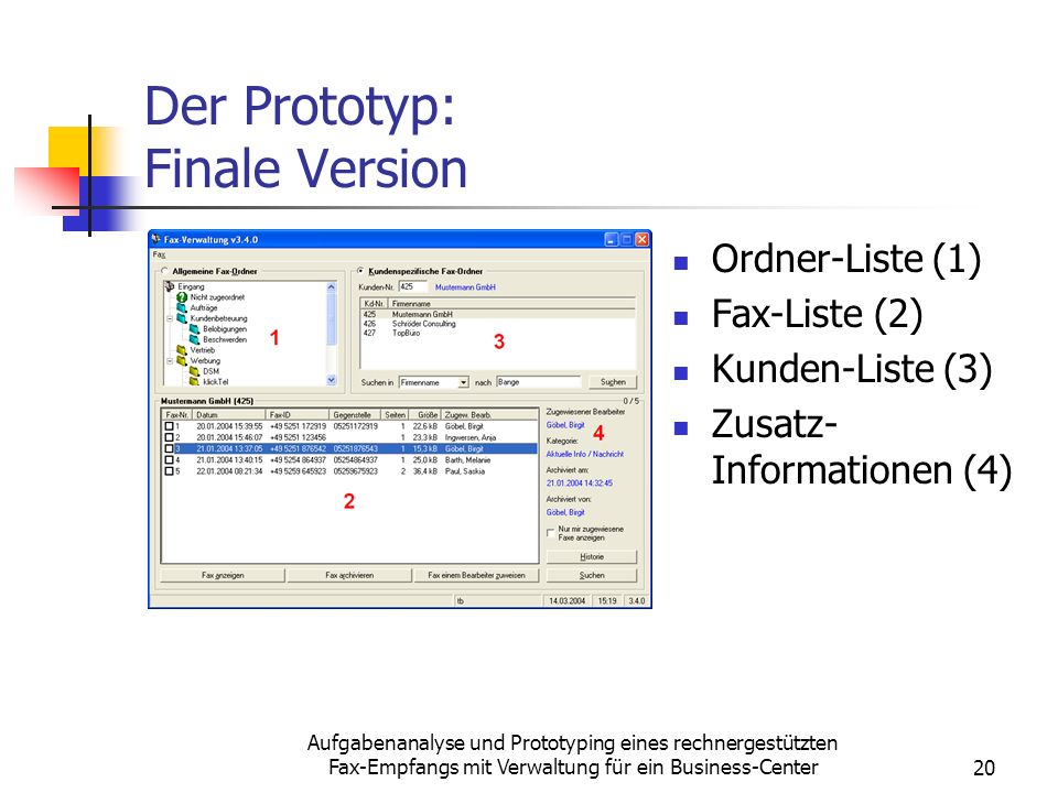Der Prototyp: Finale Version