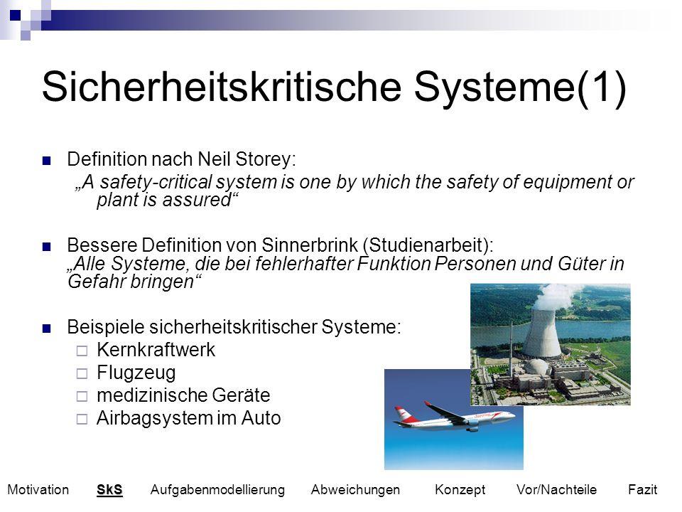 Sicherheitskritische Systeme(1)