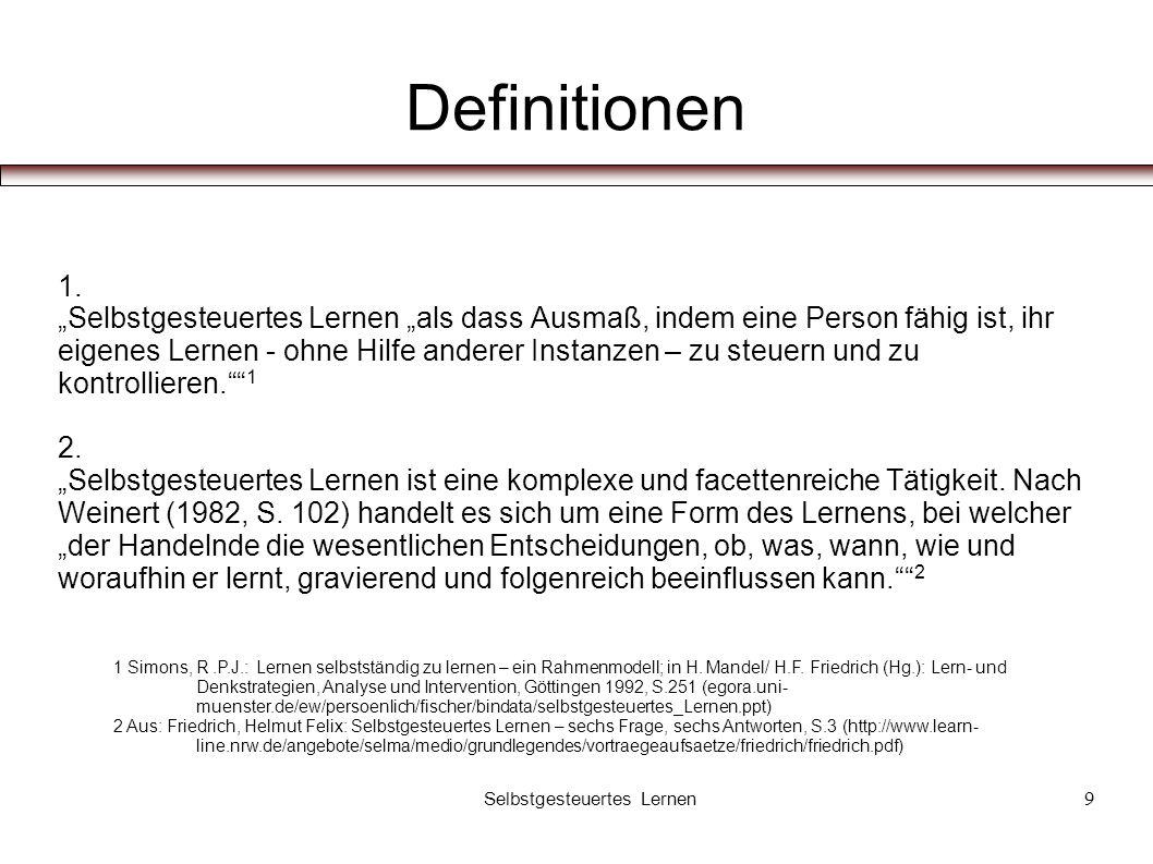 Definitionen 1.