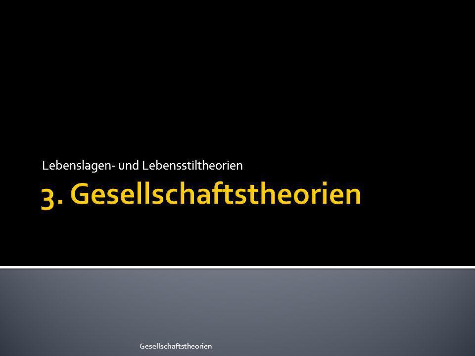 3. Gesellschaftstheorien