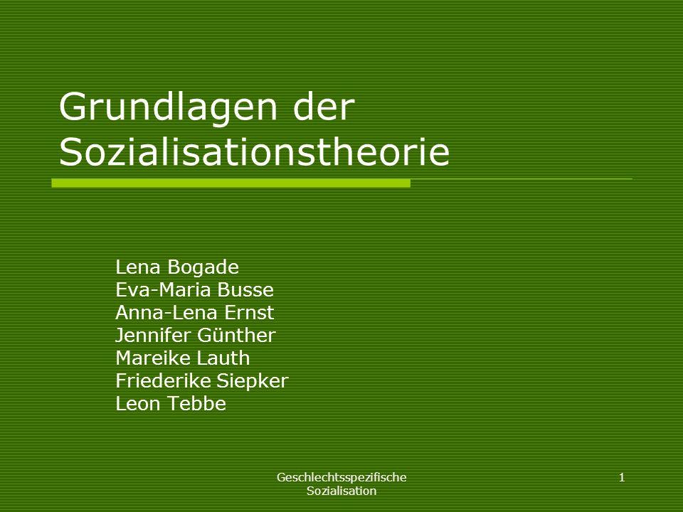 Grundlagen der sozialisationstheorie ppt video online for Grundlagen der tragwerklehre 1