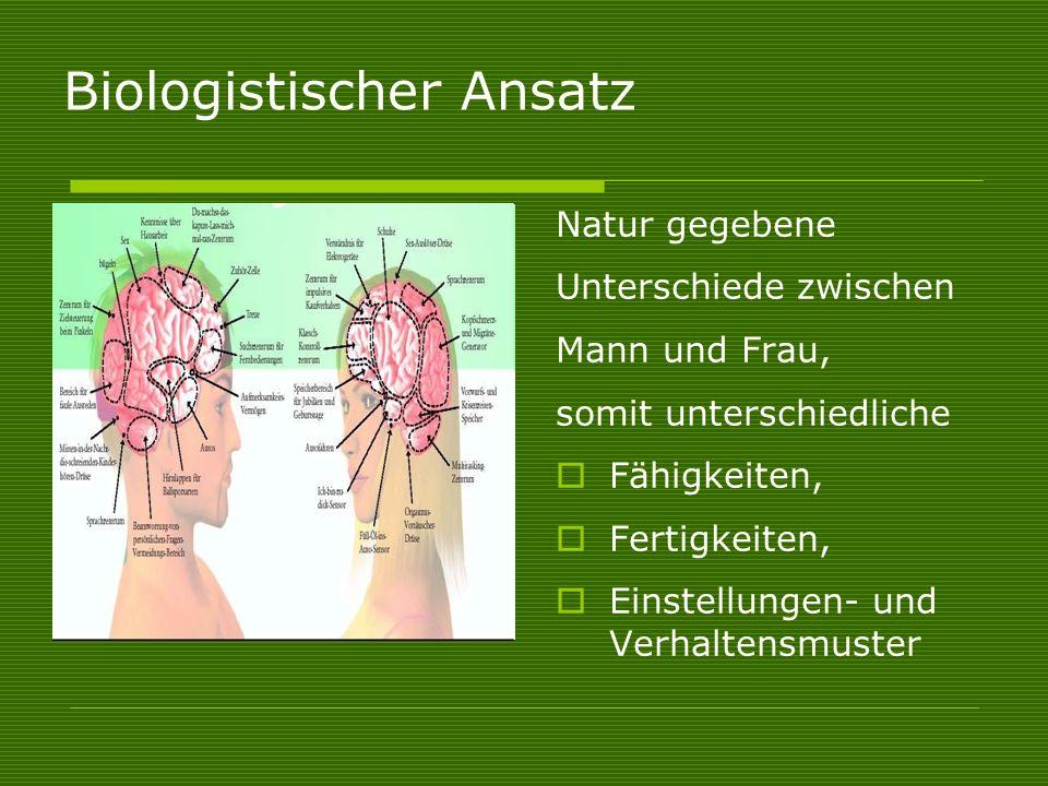 Biologistischer Ansatz