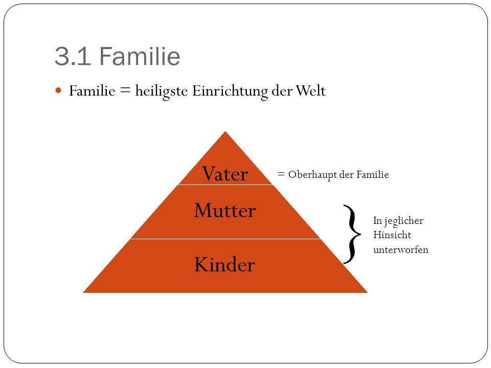 } 3.1 Familie Vater Mutter Kinder