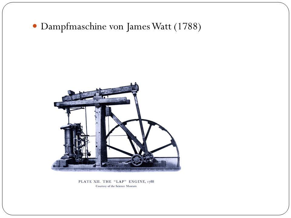 Dampfmaschine von James Watt (1788)