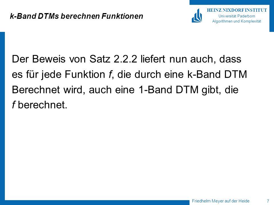 k-Band DTMs berechnen Funktionen