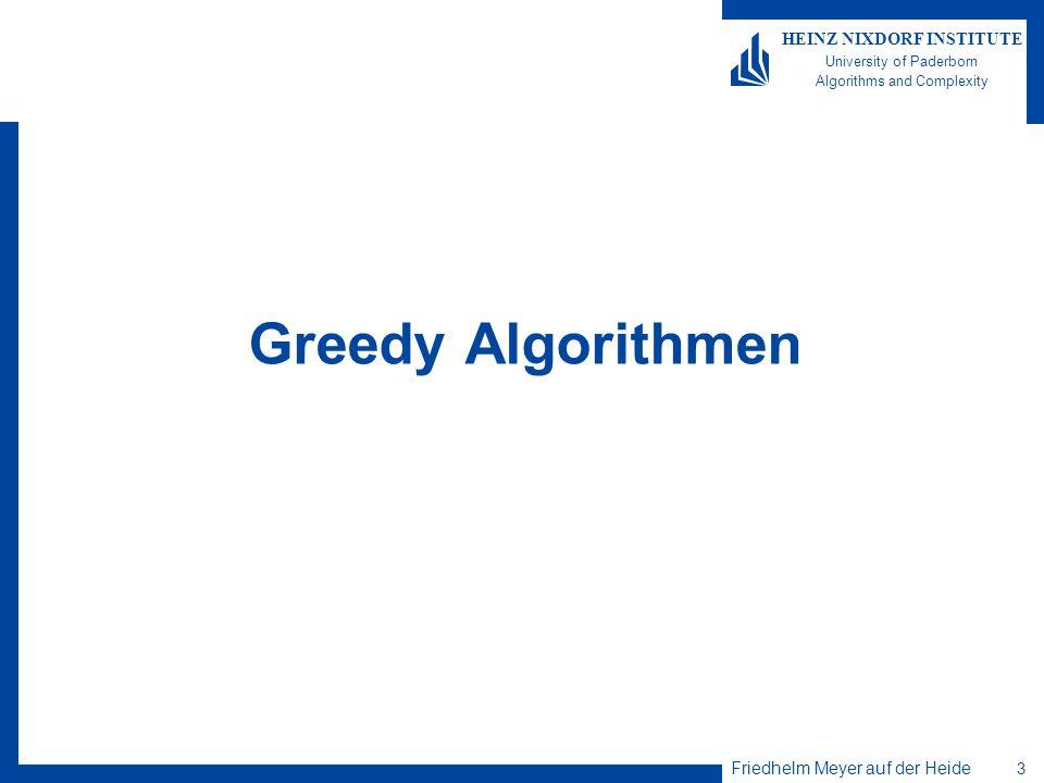 Greedy Algorithmen