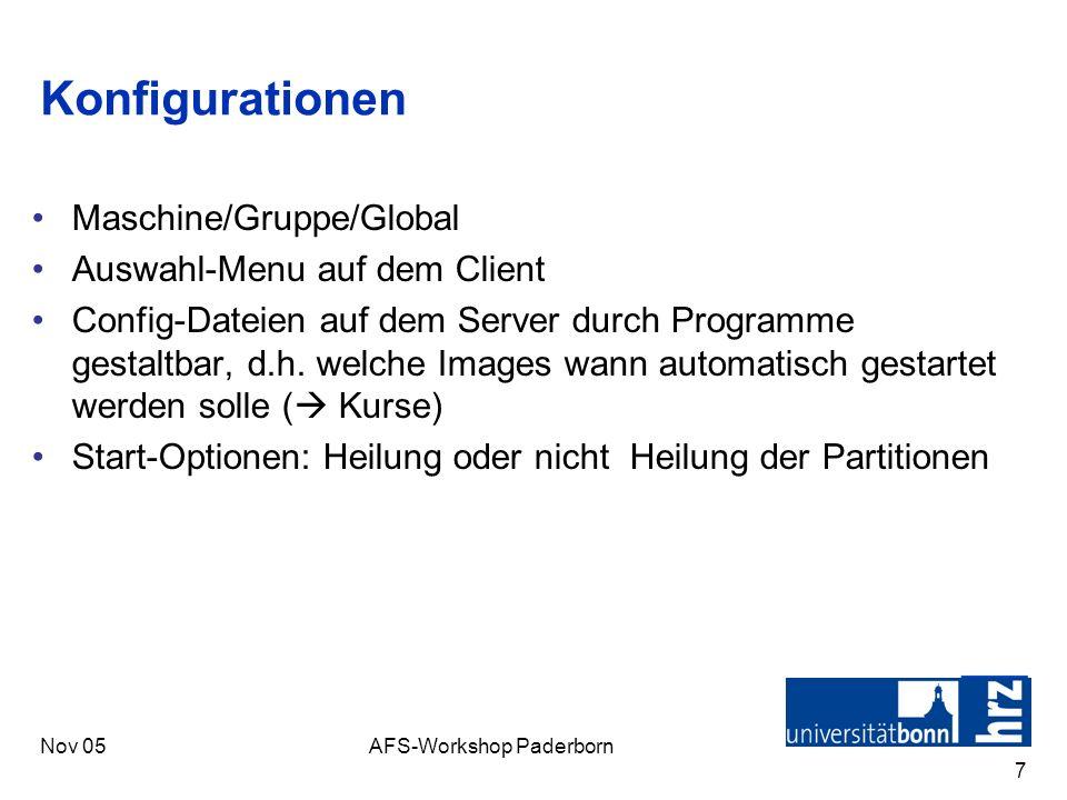 AFS-Workshop Paderborn