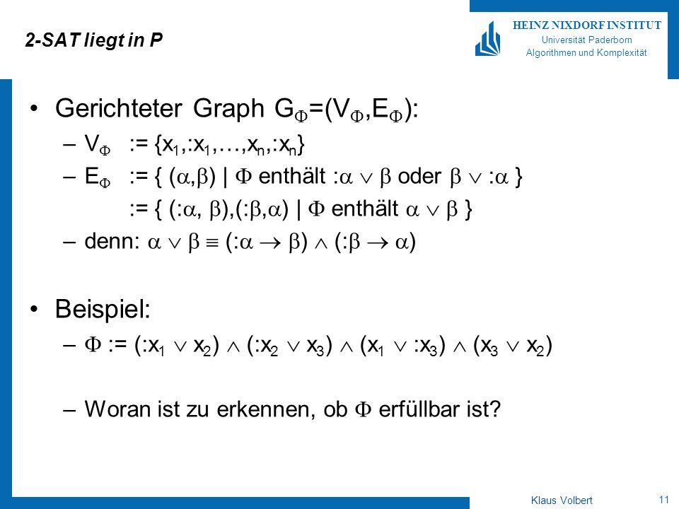 Gerichteter Graph G=(V,E):
