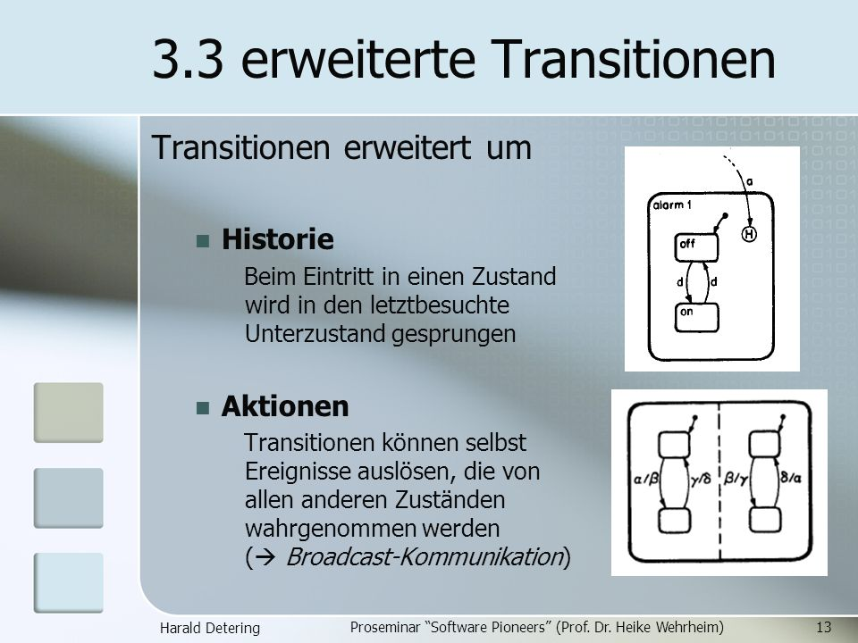 3.3 erweiterte Transitionen