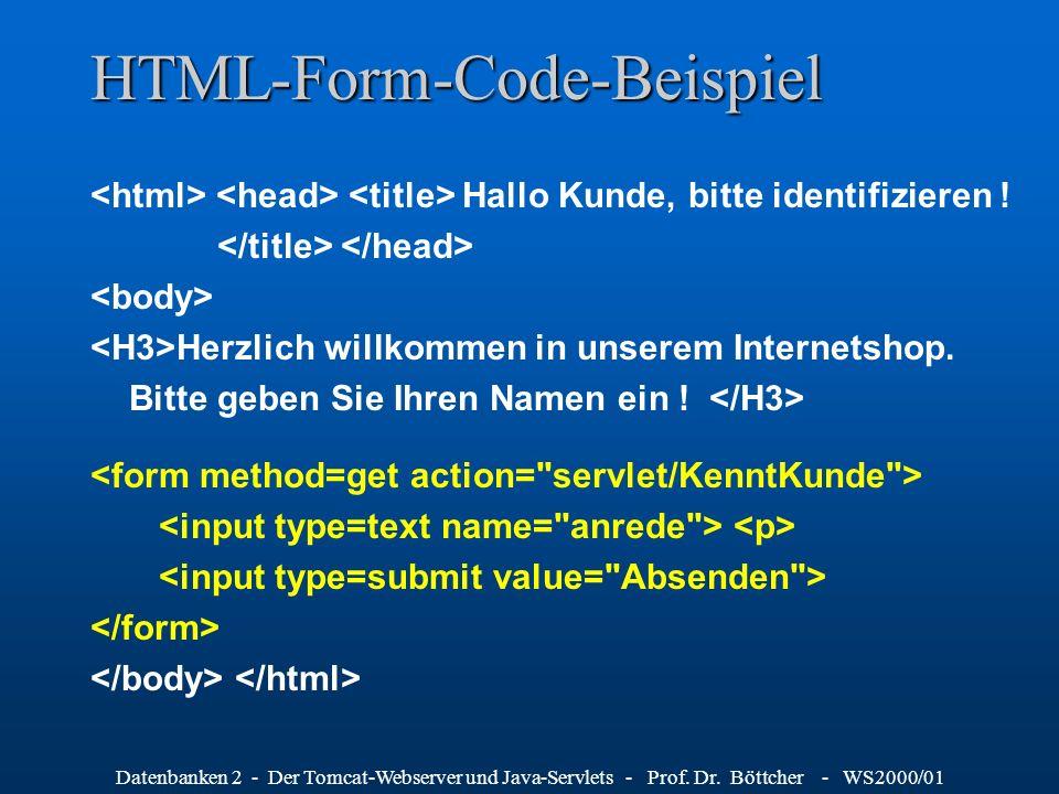 HTML-Form-Code-Beispiel