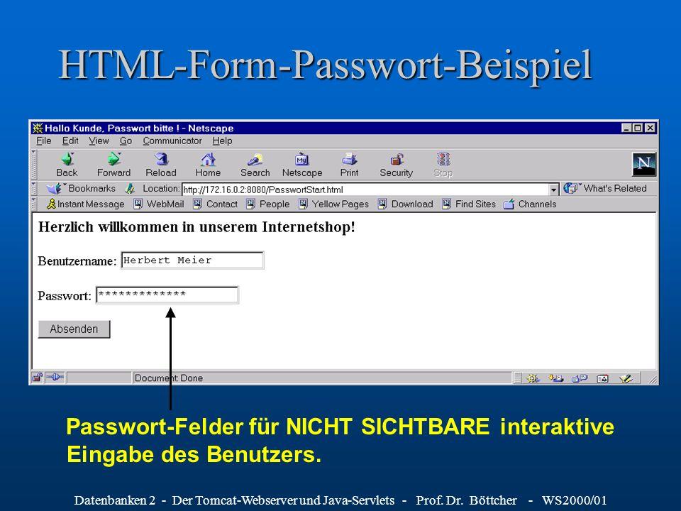 HTML-Form-Passwort-Beispiel