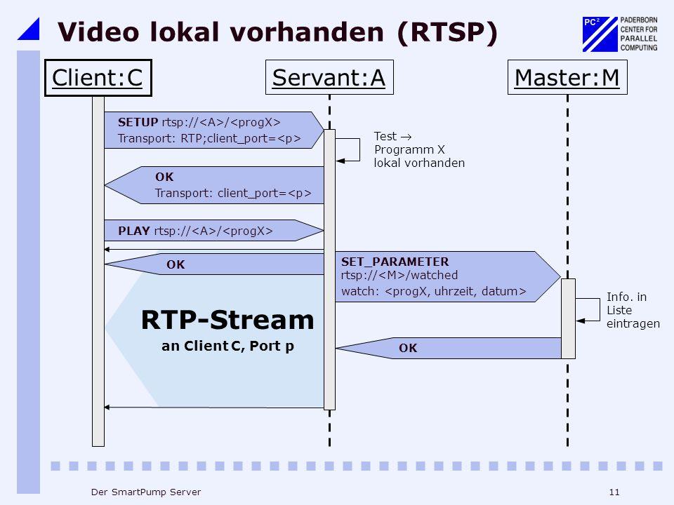 Video lokal vorhanden (RTSP)