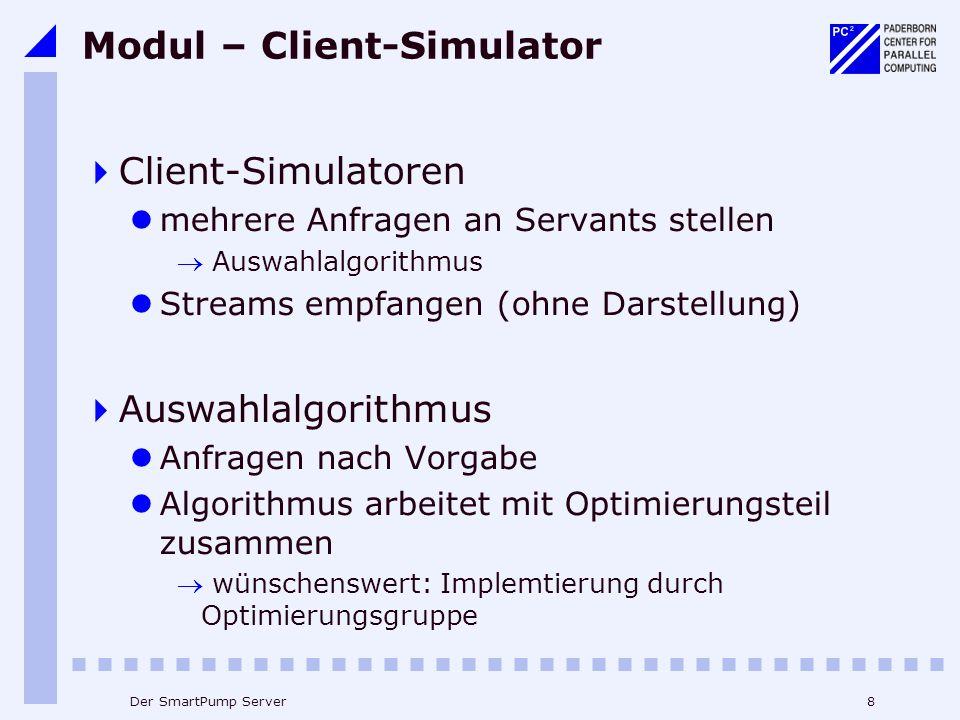 Modul – Client-Simulator