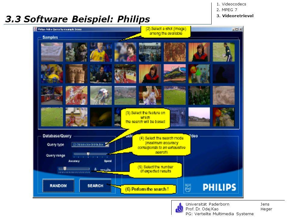 3.3 Software Beispiel: Philips