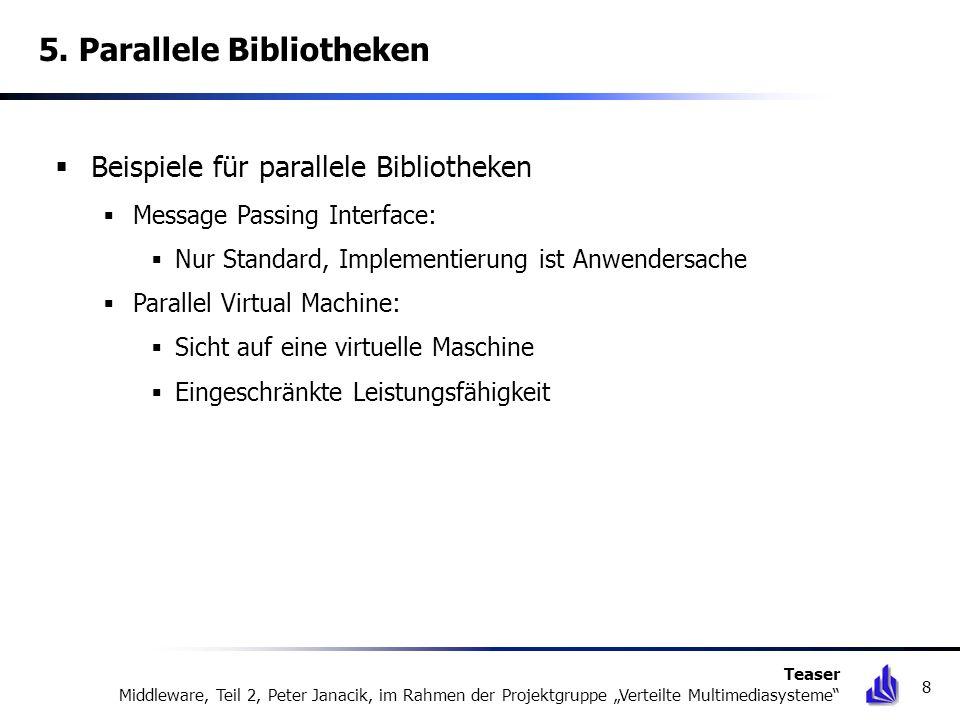 5. Parallele Bibliotheken