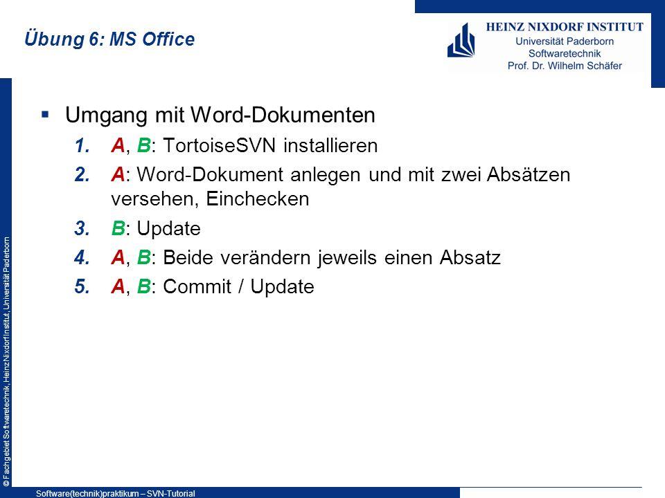 Umgang mit Word-Dokumenten