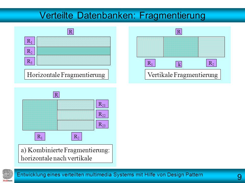 Verteilte Datenbanken: Fragmentierung