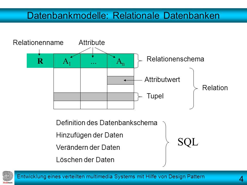 Datenbankmodelle: Relationale Datenbanken