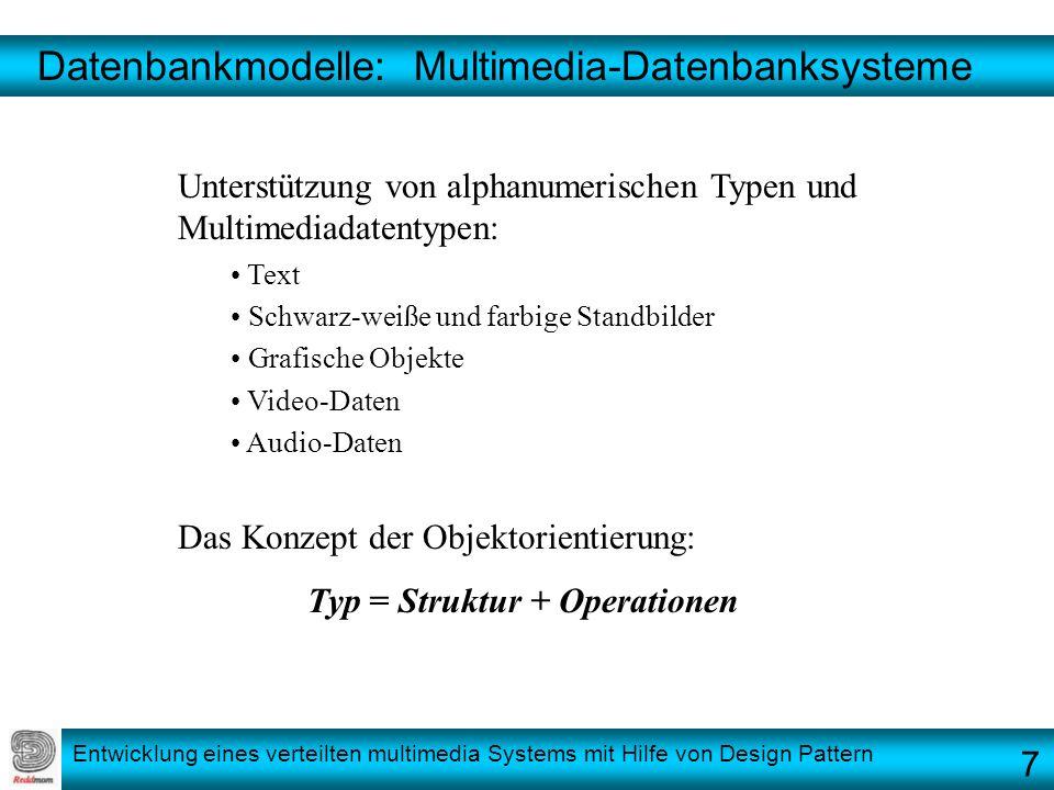 Datenbankmodelle: Multimedia-Datenbanksysteme