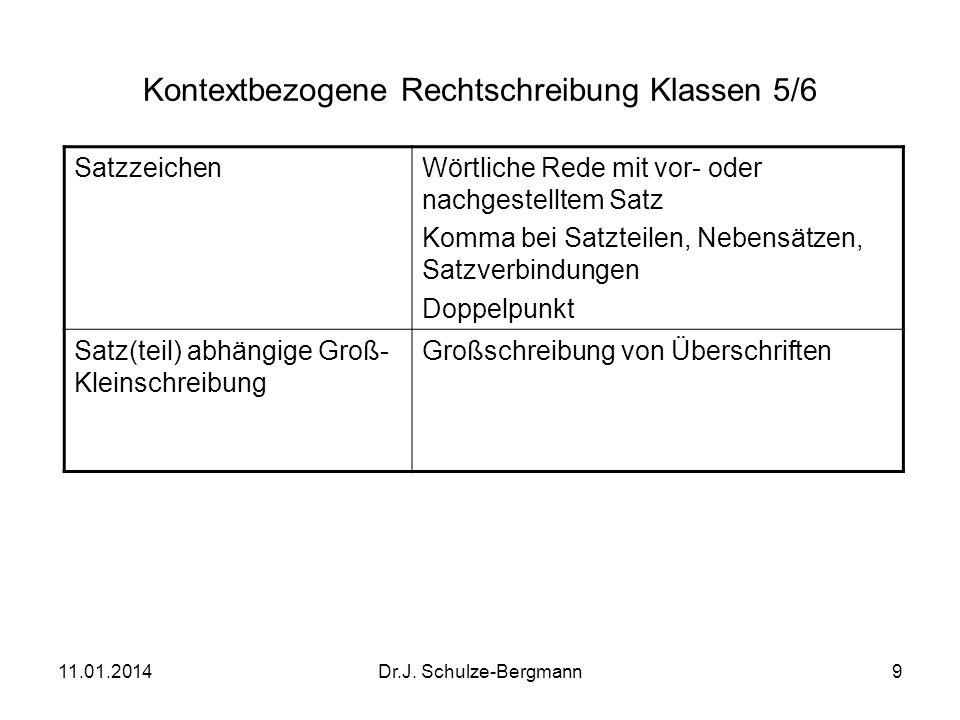 Kontextbezogene Rechtschreibung Klassen 5/6