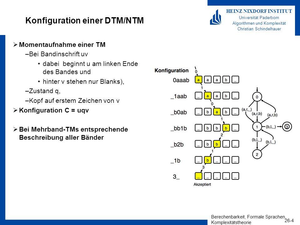 Konfiguration einer DTM/NTM
