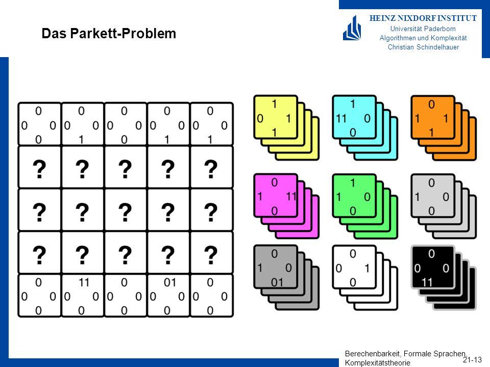 Das Parkett-Problem