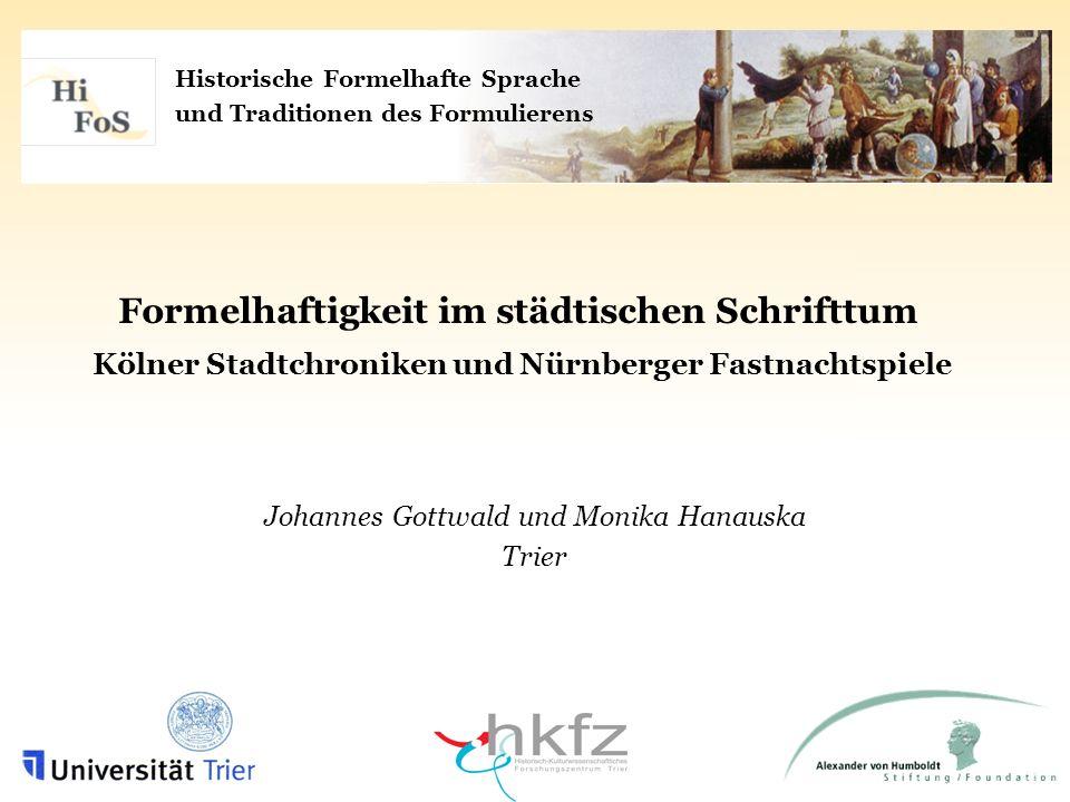 Johannes Gottwald und Monika Hanauska Trier
