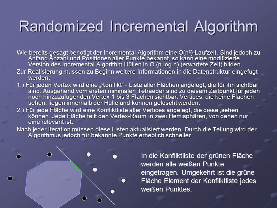 Randomized Incremental Algorithm
