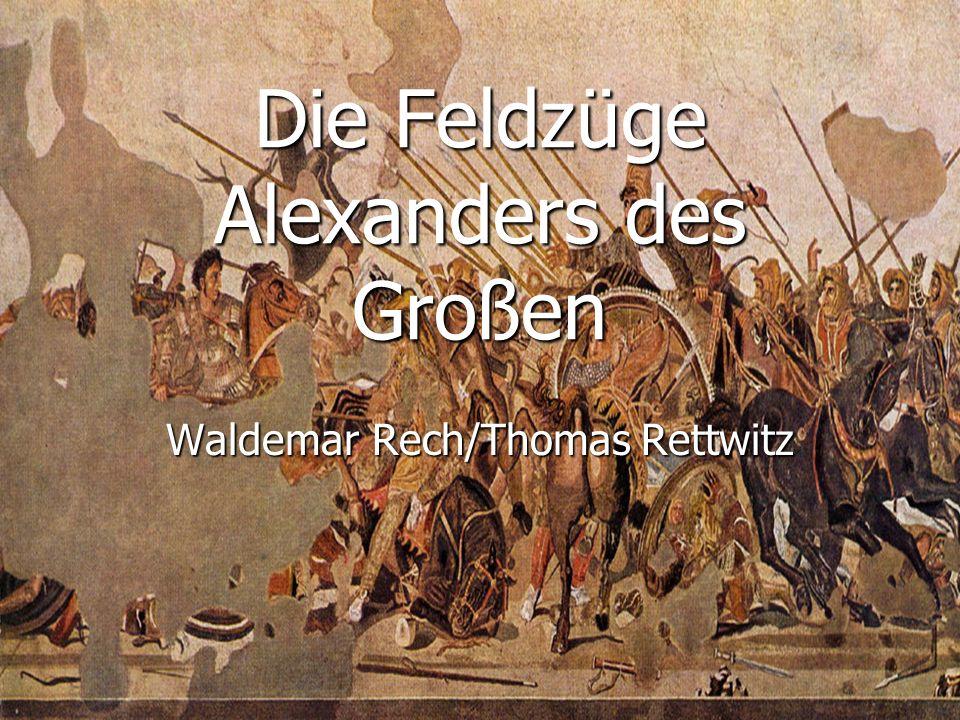 Die Feldzüge Alexanders des Großen