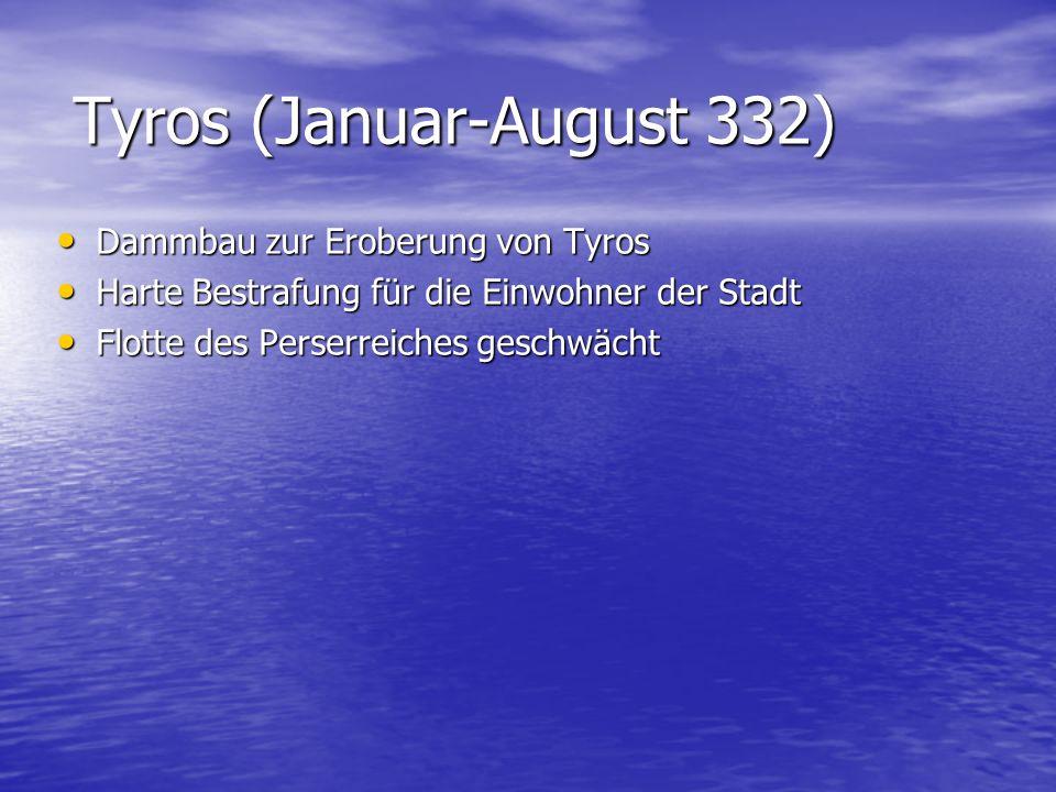 Tyros (Januar-August 332)