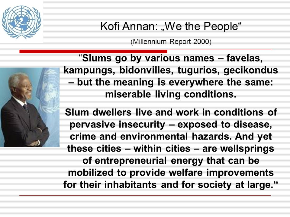 "Kofi Annan: ""We the People"