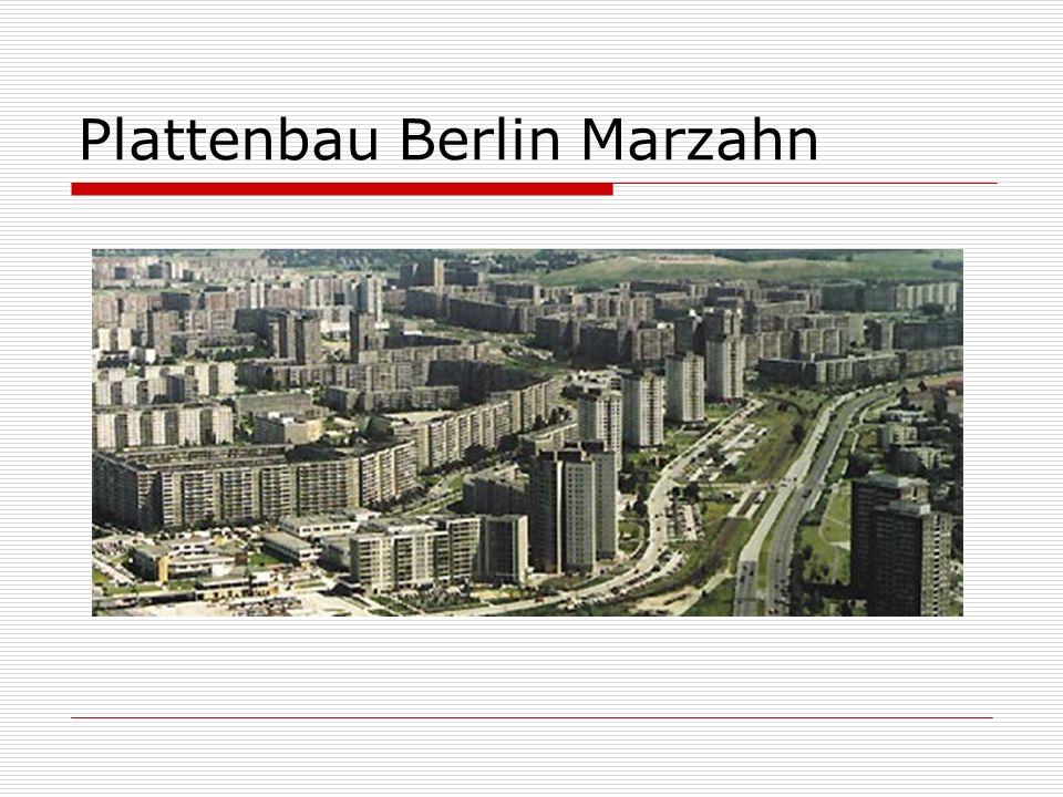 Plattenbau Berlin Marzahn