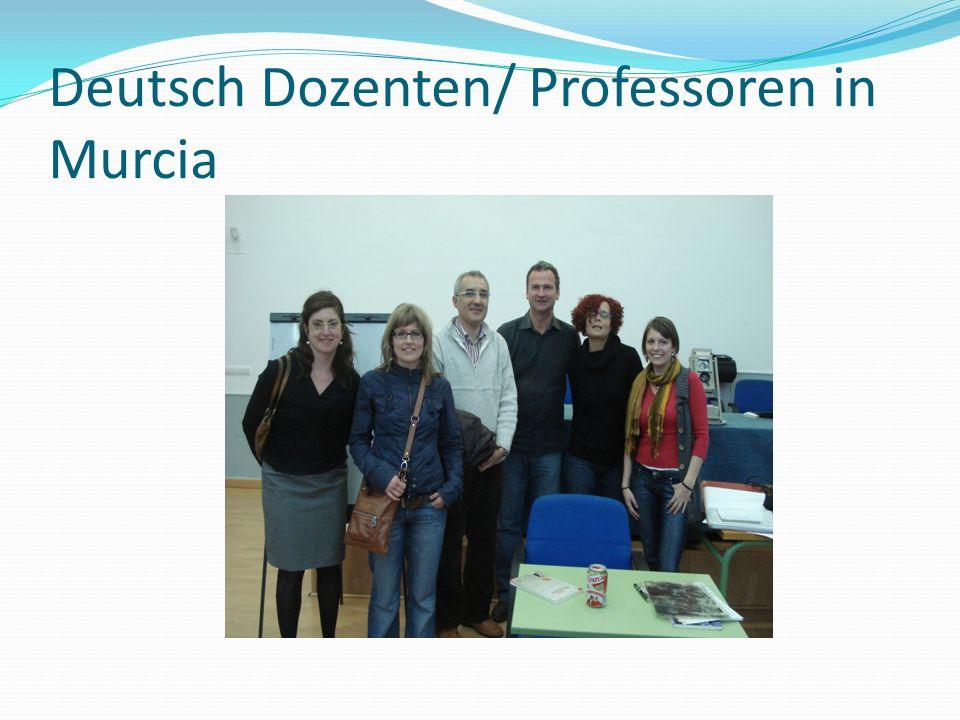 Deutsch Dozenten/ Professoren in Murcia