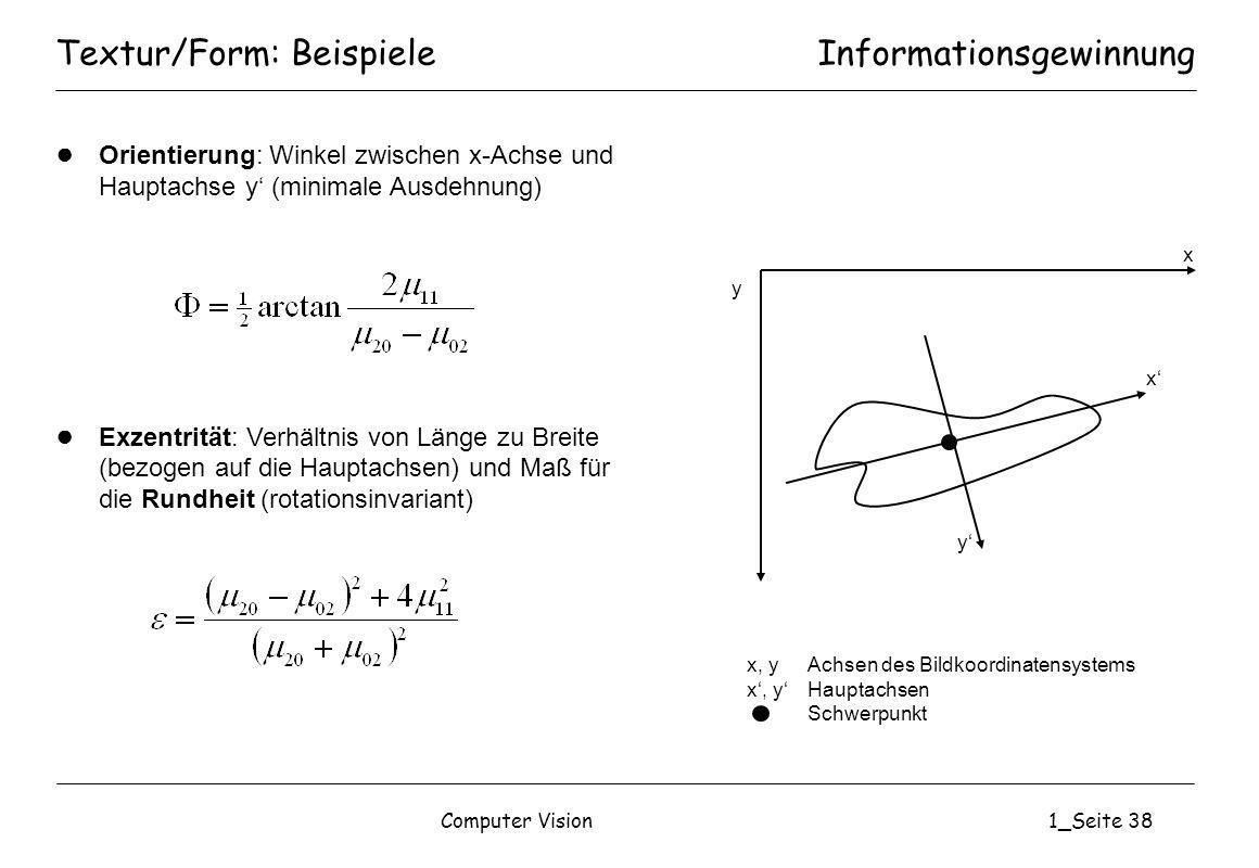 Textur/Form: Beispiele