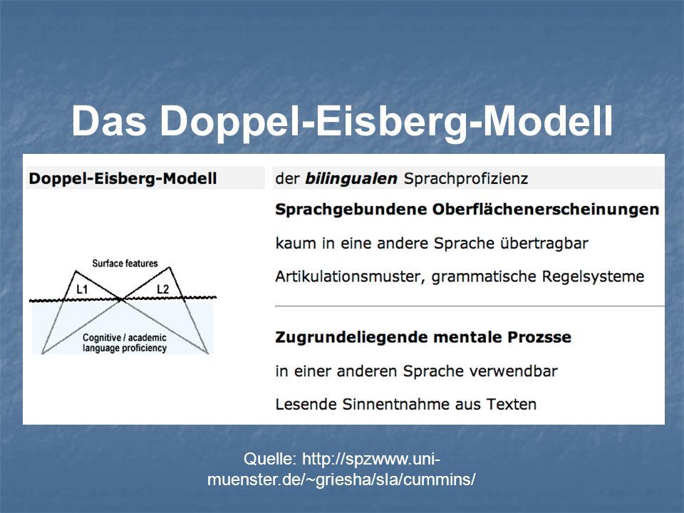 Das Doppel-Eisberg-Modell