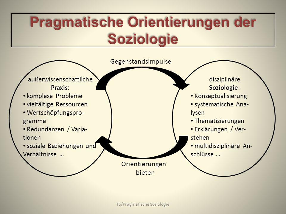 Pragmatische Orientierungen der