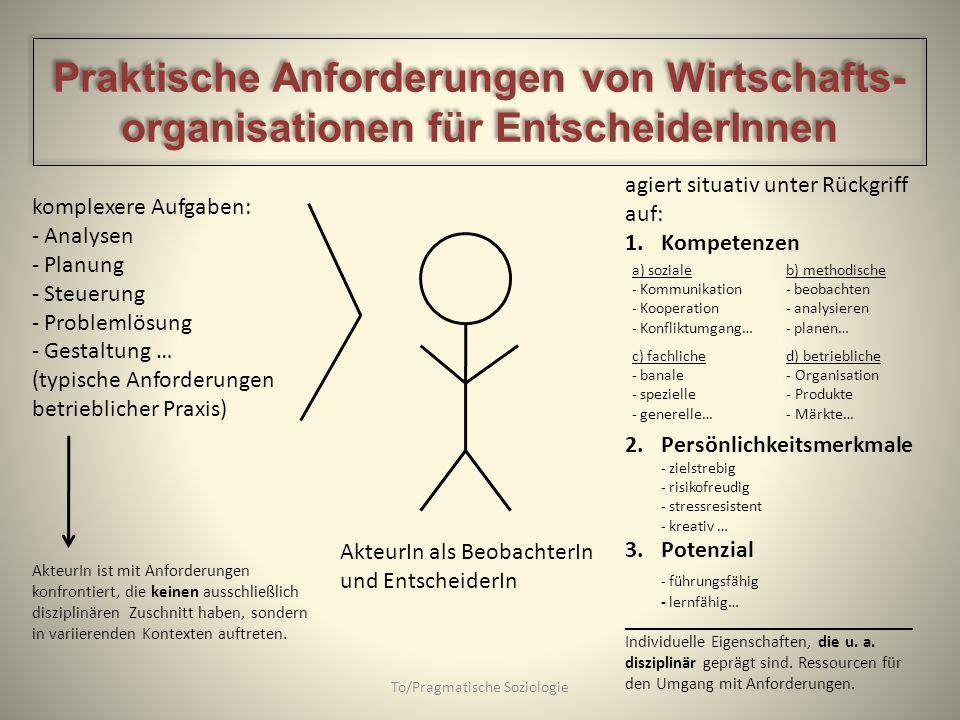 To/Pragmatische Soziologie