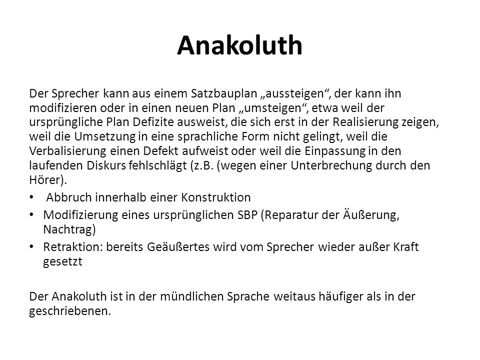 Anakoluth