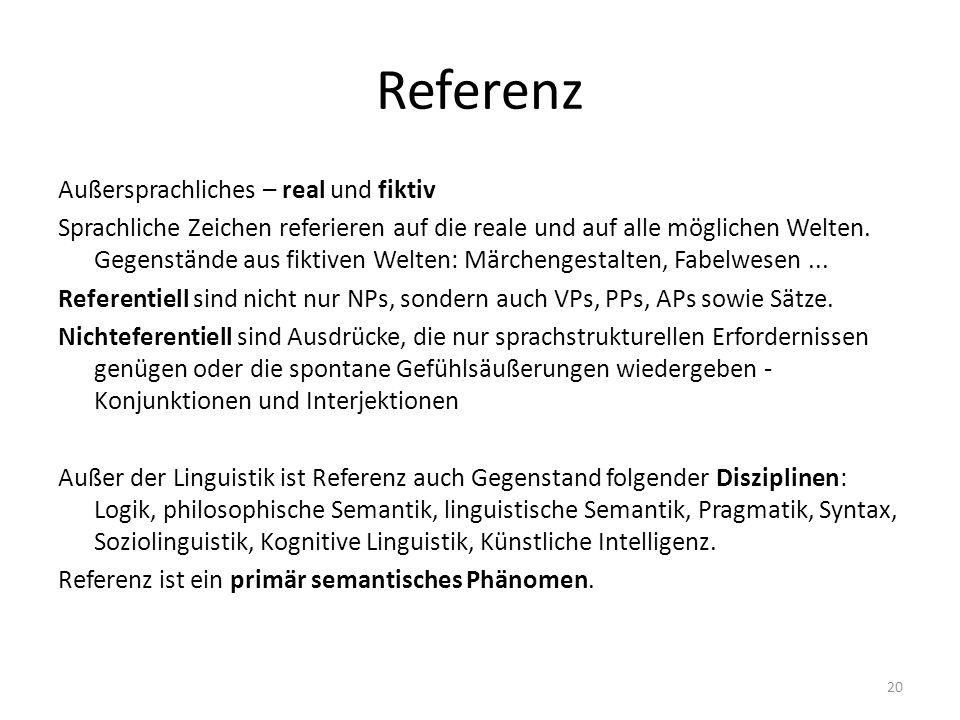 Referenz