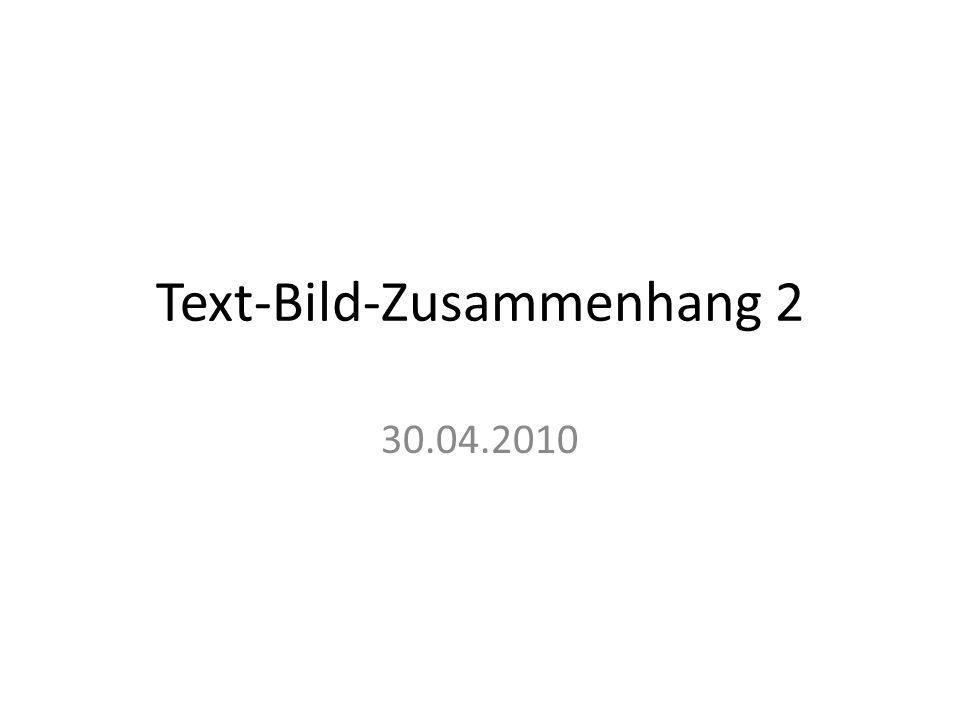 Text-Bild-Zusammenhang 2