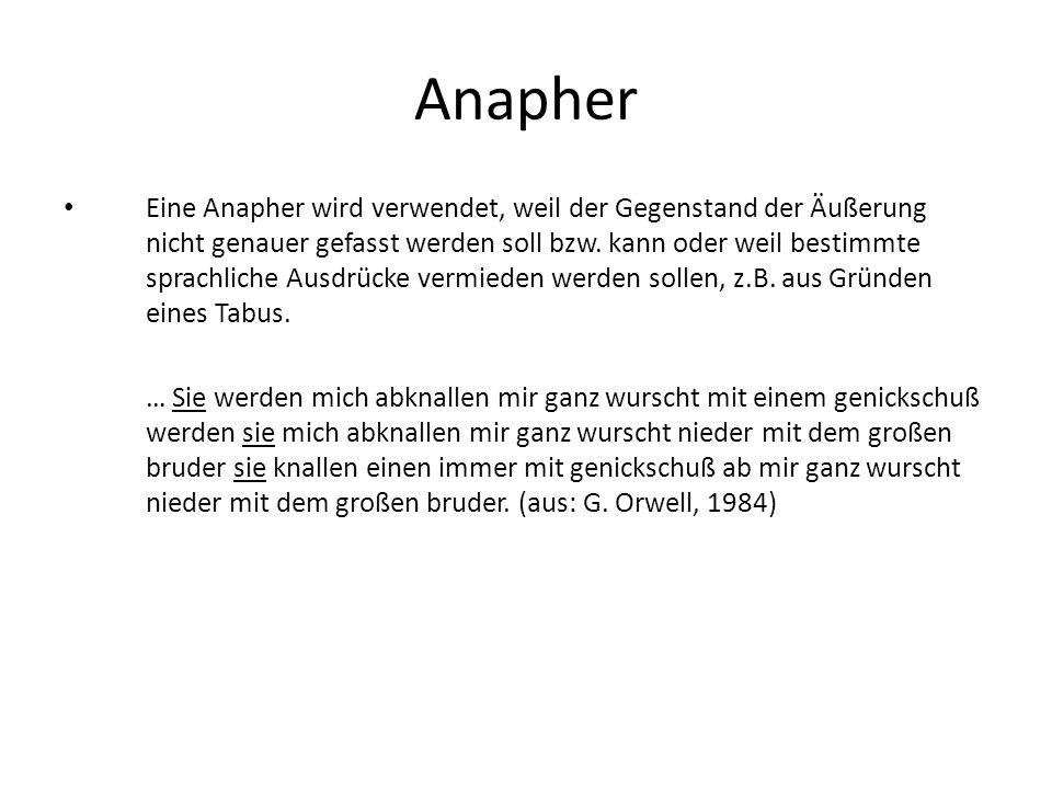 Anapher