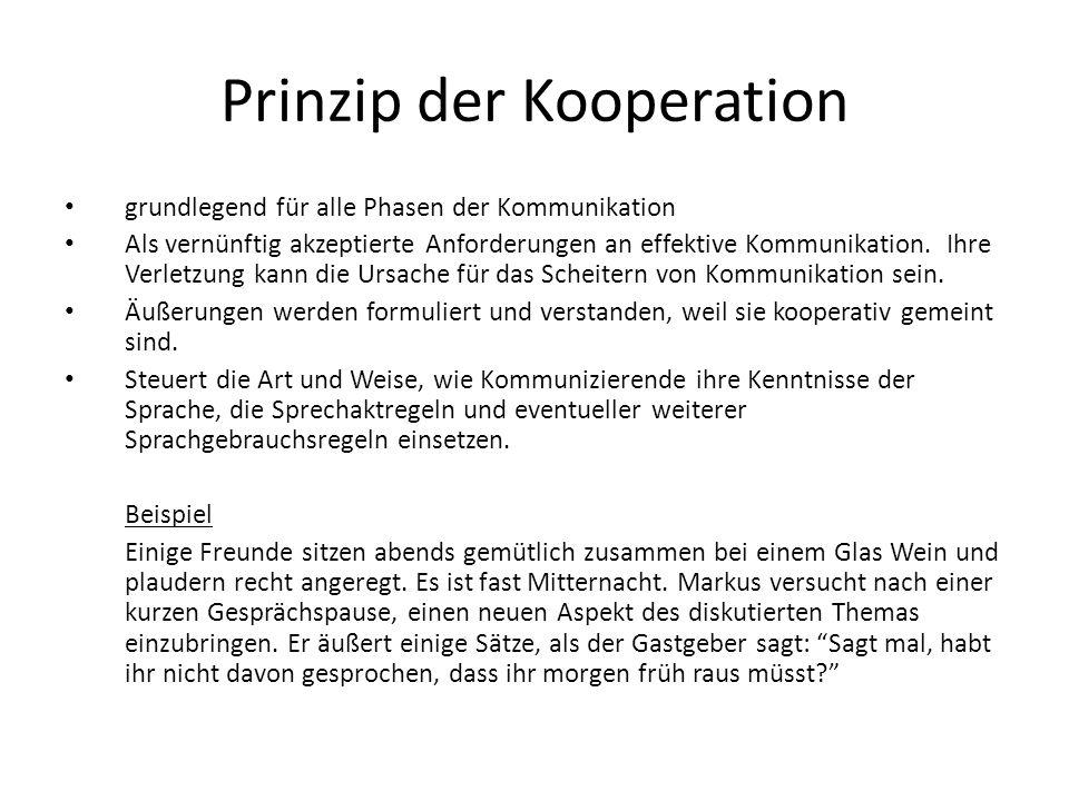 Prinzip der Kooperation