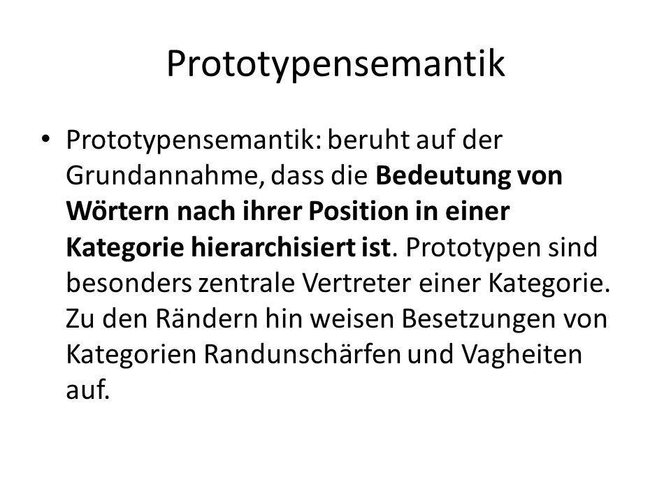 Prototypensemantik