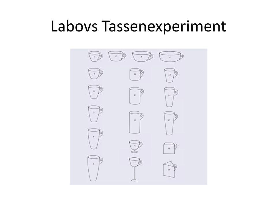 Labovs Tassenexperiment