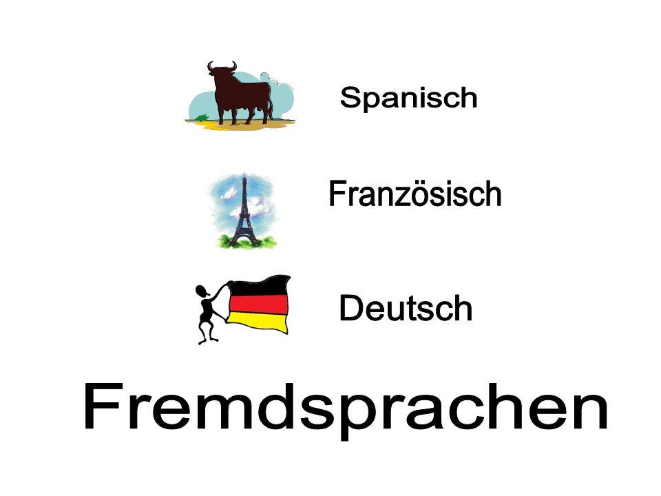 Spanisch Französisch Deutsch Fremdsprachen
